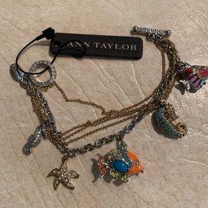 NWT, Ann Taylor Seaside Bracelet